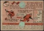 1958 Topps #394  Jim Grant  Back Thumbnail