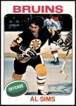 1975 Topps #136  Al Sims   Front Thumbnail