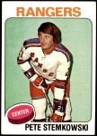 1975 Topps #303  Pete Stemkowski   Front Thumbnail