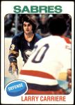 1975 Topps #154  Larry Carriere   Front Thumbnail