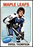 1975 Topps #114  Errol Thompson   Front Thumbnail