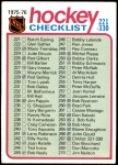 1975 Topps #267   Checklist Front Thumbnail
