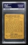 1940 Play Ball #185  Joe Kuhel  Back Thumbnail