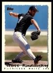 1995 Topps Traded #71 T Scott Radinsky  Front Thumbnail