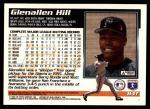 1995 Topps Traded #84 T Glenallen Hill  Back Thumbnail