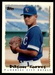 1995 Topps Traded #103 T Dilson Torres  Front Thumbnail