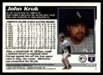 1995 Topps Traded #116 T John Kruk  Back Thumbnail