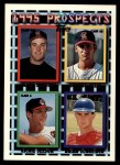 1995 Topps Traded #122 T Richie Sexson / Brian Schneider  Front Thumbnail