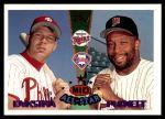 1995 Topps Traded #162 T  -  Kirby Puckett / Len Dykstra All-Star Front Thumbnail