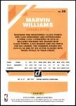 2019 Donruss #29  Marvin Williams  Back Thumbnail