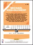 2019 Donruss #28  Michael Kidd-Gilchrist  Back Thumbnail