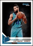 2019 Donruss #233   -  Cody Martin Rated Rookie Front Thumbnail