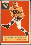1956 Topps #42  Tom Fears  Front Thumbnail