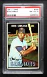 1967 Topps #349  Bob Chance  Front Thumbnail