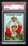 1967 Topps #519  Ted Davidson  Front Thumbnail