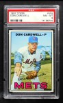 1967 Topps #555  Don Cardwell  Front Thumbnail