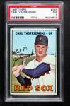 1967 Topps #355  Carl Yastrzemski  Front Thumbnail