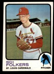 1973 Topps #649  Rich Folkers  Front Thumbnail