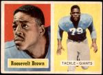 1957 Topps #11  Roosevelt Brown  Front Thumbnail