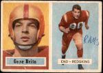 1957 Topps #48  Gene Brito  Front Thumbnail