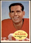 1960 Topps #117  Billy Wilson  Front Thumbnail