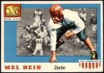 1955 Topps #28  Mel Hein  Front Thumbnail