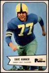 1954 Bowman #88  Dave Hanner  Front Thumbnail