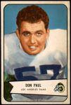 1954 Bowman #68  Don Paul  Front Thumbnail