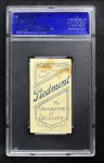 1909 T206 BEND Tommy Leach  Back Thumbnail