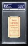 1909 T206 BAT Mike Donlin  Back Thumbnail