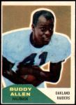 1960 Fleer #48  Buddy Allen  Front Thumbnail