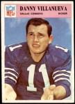 1966 Philadelphia #64  Danny Villanueva  Front Thumbnail