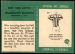 1966 Philadelphia #130  Chuck Mercein New York Giants Back Thumbnail