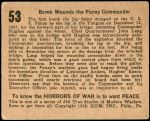 1938 Horrors of War #53   Bomb Wounds the Panay Commander Back Thumbnail