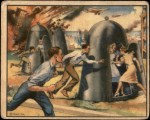 1939 World In Arms #5 M  British Portable Steel Air Raid Shelter Front Thumbnail