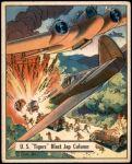 1941 War Gum #42   U.S. Tigers Blast Japanese Column Front Thumbnail
