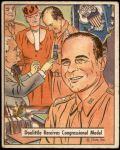 1941 War Gum #71   Doolittle Receives Congressional Medal Front Thumbnail