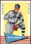 1961 Fleer #49  Walter Johnson  Front Thumbnail