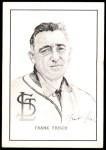 1950 Callahan Hall of Fame  Frankie Frisch   Front Thumbnail