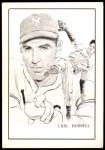 1950 Callahan Hall of Fame  Carl Hubbell  Front Thumbnail