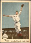 1959 Fleer #43   -  Ted Williams Leads Outfielders in Double Plays Front Thumbnail