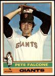 1976 Topps #524  Pete Falcone  Front Thumbnail