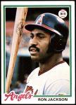 1978 Topps #718  Ron Jackson  Front Thumbnail