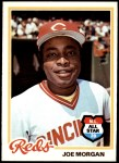 1978 Topps #300  Joe Morgan  Front Thumbnail