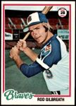 1978 Topps #217  Rod Gilbreath  Front Thumbnail