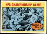 1972 Topps #138  Duane Thomas NFC Championship Front Thumbnail