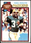 1979 Topps #463  Terdell Middleton  Front Thumbnail