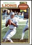 1979 Topps #487  Greg Landry  Front Thumbnail