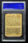 1914 Cracker Jack #67  Doc Crandall  Back Thumbnail