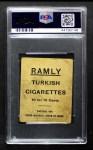 1909 T204 Ramly  Ed Reulbach  Back Thumbnail